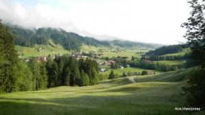 Marbach am Tourstart